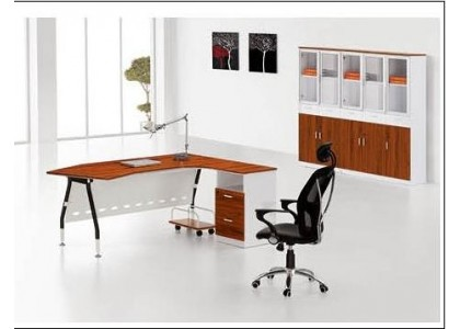 "71"" W Contemporary Computer Desk"