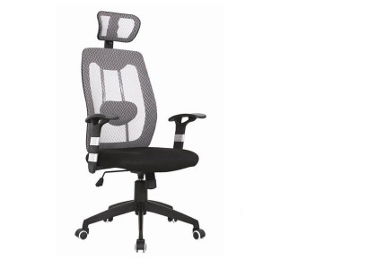 Mesh with Headrest (grey)