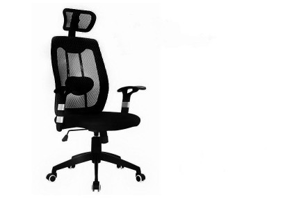 Mesh with Headrest (black)