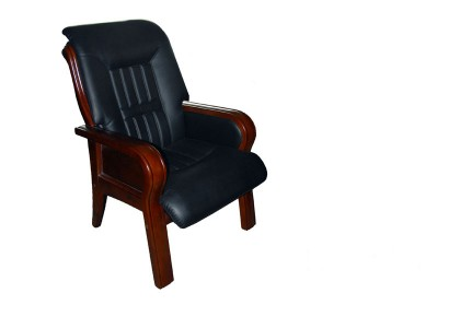 Leather Wood Chair