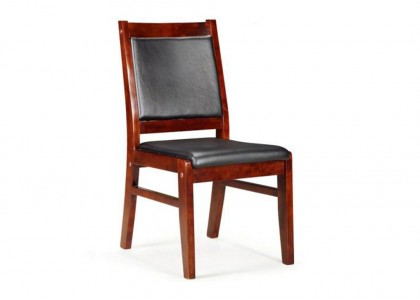 Armless Wood Chair