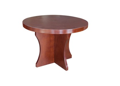 Small Round Veneer Table