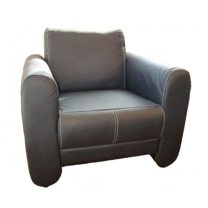 Real Leather Club Chair