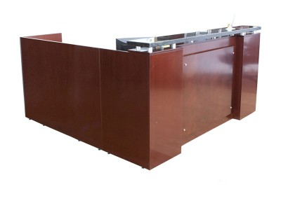 Veneer Reception Desk