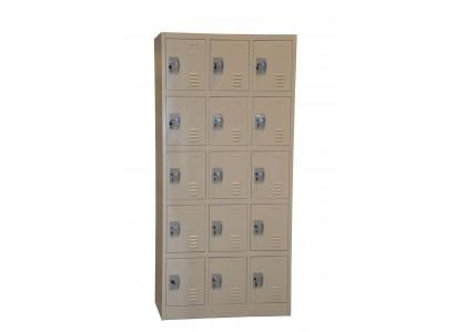 15-Door Locker