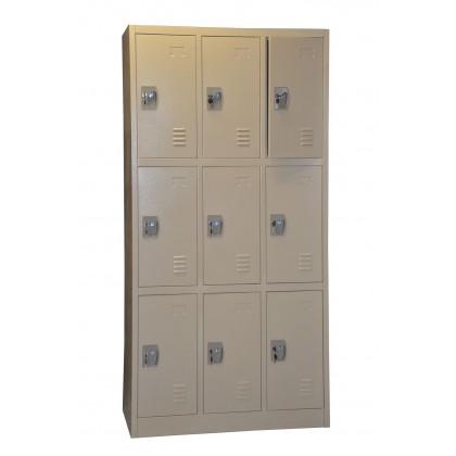 9-Door Locker