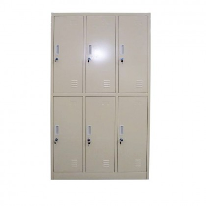 6-Door Locker (Two Tiers)
