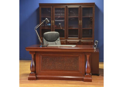 "63""W Classic Executive Desk"