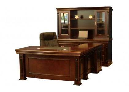 "80""W Classic Executive Desk"