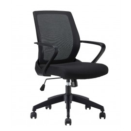 Modern Low-Back Mesh Chair